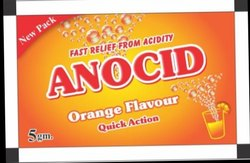 Acidity Sachet, 5 Gm, Packaging Type: Laminate