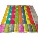 Casual Wear Printed Ladies Assorted Color Cotton Saree, 6.25 M (with Blouse Piece)