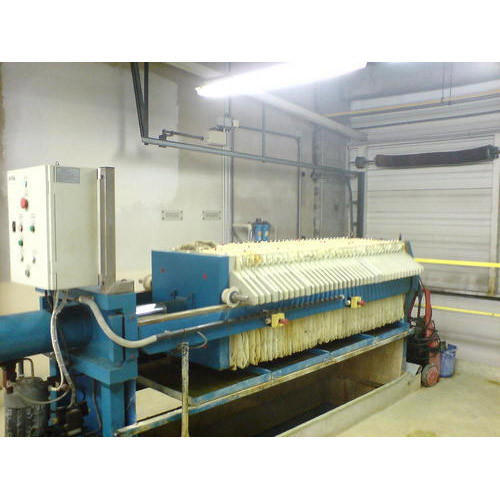 Automatic 500-1000 Litres/hr Filter Press Machine, 20-30