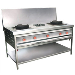 Stainless Steel Chinese Gas Bhatti