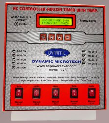 AC Controller 5 AC LCD Display First Kind in India