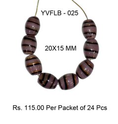 Lampwork Fancy Glass Beads - YVFLB-025