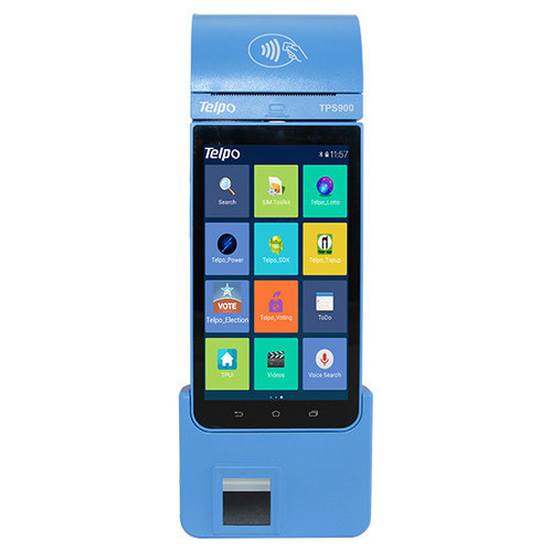 Tps900 Fp Aeps Android Pos