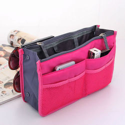 Pink Hand Bag Organizer