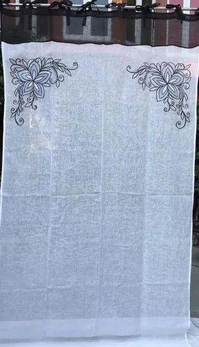 Linen Door Curtain