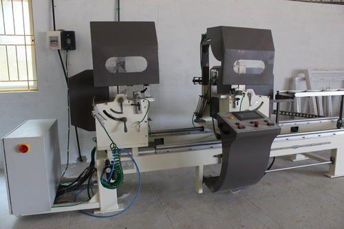 Alluminium Machinary Manual Double Head Cutting Machine