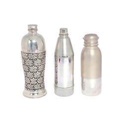 Silver Water Bottle