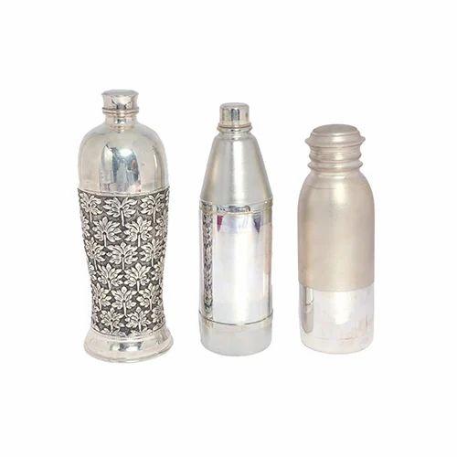 Silver Bottle Silver Water Bottle Manufacturer From Mumbai