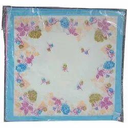 Ladies Designer Cotton Handkerchief