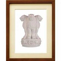 White Fiber Ashok Stambh, Size: 26x18 Inch
