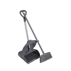 Lobby Dustpan with Brush Broom