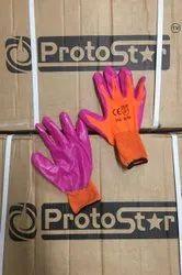 Safety Nitrile Hand Gloves