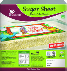 Sugar Sheet for Cake