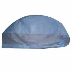 Blue Non Woven Disposable Surgeon Cap, For Surgical, Size: Free Size