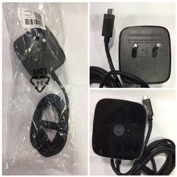 Black Turbo Mobile Charger