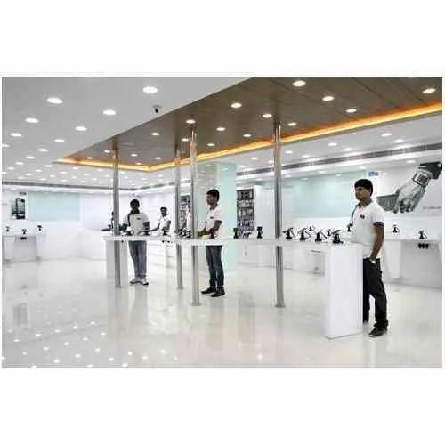 Rmg Mobile Showroom Interior Designing