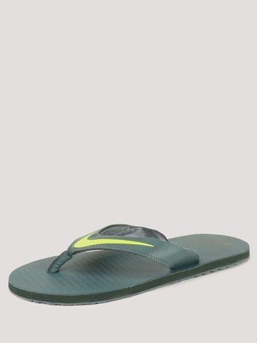 online retailer d30ae 34cd5 Nike Thong 5 Green Slippers, Men, Women & Kids Footwear | KD ...