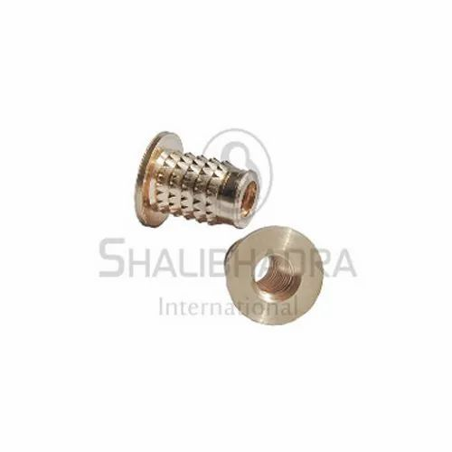 Brand New 20 pcs BRASS INSERTS in Plastic in COLD PRESS M3 Length 4.8 mm