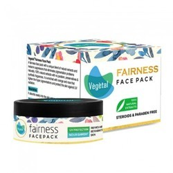 Vegetal Fairness Face Pack, Pack Size: 50 Grams, for Parlour