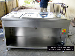 Hot Bain Marie With One Underself