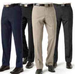 Woolen Flat Mens Formal Trouser, Rs 200 /piece Raven | ID: 16999881433