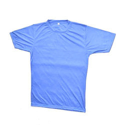 Round Plain Sports T-Shirt
