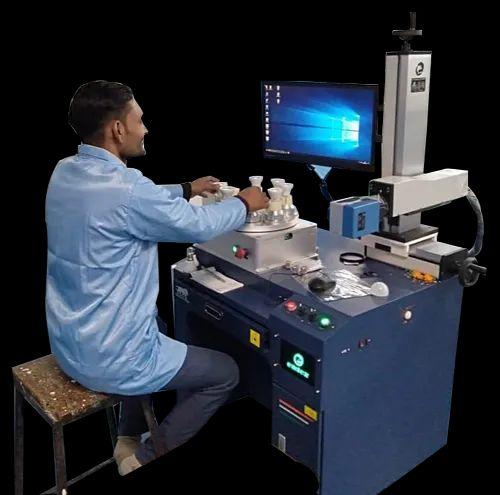 ELM20RLED Fiber Laser Marking Machine