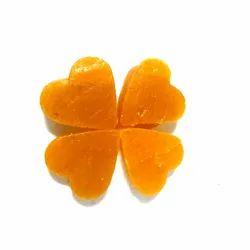 Heart Shape Mango Toffee