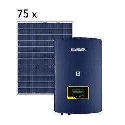 Luminous 25 kw On Grid Solar System