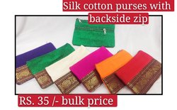 Silk Cotton Purse