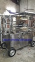 Small Kitchen Setup Food Trolley