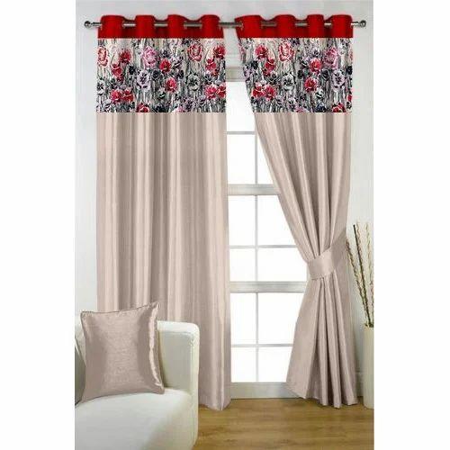 Printed Door Curtain  sc 1 st  IndiaMART & Printed Door Curtain Mudrit Parda - PVR Fashion Surat | ID ...
