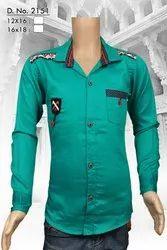 Cotton Full Sleeves Kids Shirts