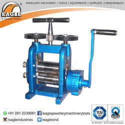Hand Powered Rolling Mill for Jewelry Roll Press