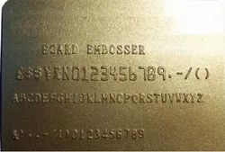 GOLDEN EMBOSSED CARDS