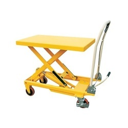 Scissor Lift Trolley, Capacity: 100 Kg To 1000 Kg