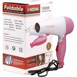 Pink,White Nova 1290 Hair Dryer 1000watt