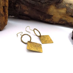 Raw Brass Jewelry