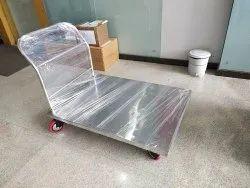 3x4 Ft SS Platform Trolley 500 kg