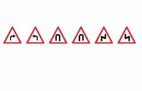 Pioneer Plastic Road Cautionary Signages
