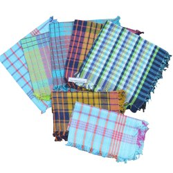 Cotton Kitchen Cleaning Cloth Duster Napkin Multipurpose 17X17 Multicolour