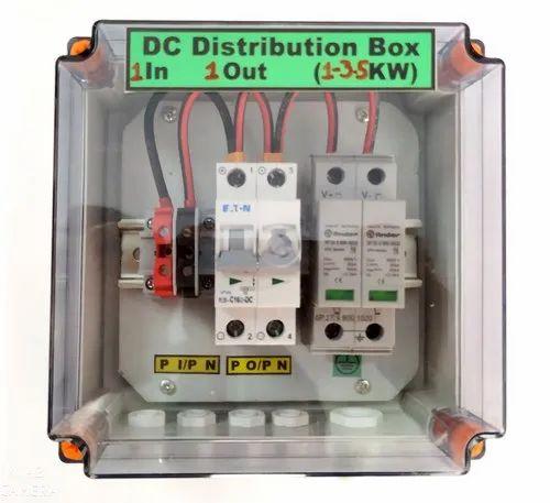 Solar DCDB For Rooftop