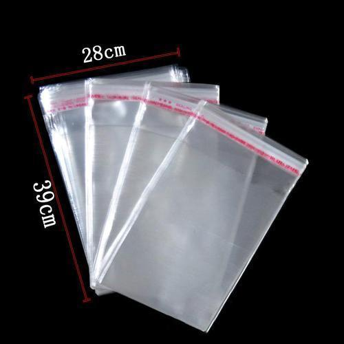 Transparent Twin Seal Bags