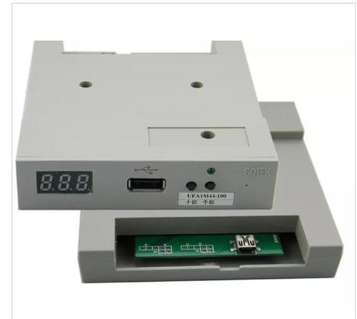 1.44MB 3.5 Inch Floppy Drive to USB Emulator For Industrial Textile machinery