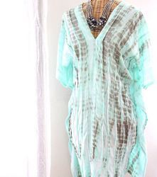 Indian Hand Block Print Kaftan