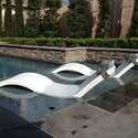 Plastic Pool Side Lounger