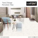 Lucent Multicolor Full White Vitrified Tiles, Size: 60x60 Cm