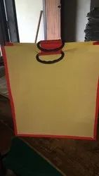 Printed Red Shoping Bag, Capacity: 12 Kg, Size: 15x18x5