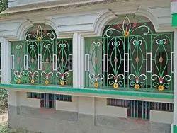 Iron Designer Grill Window