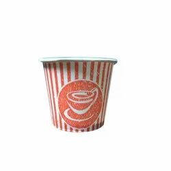 Disposable Paper Cup, Capacity: 250 ML